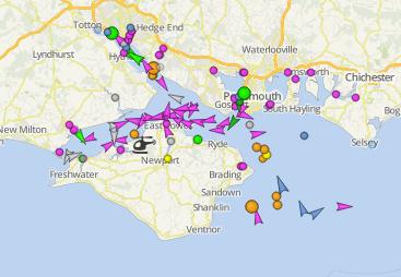 Towards an AIS Vessel Track Overlay